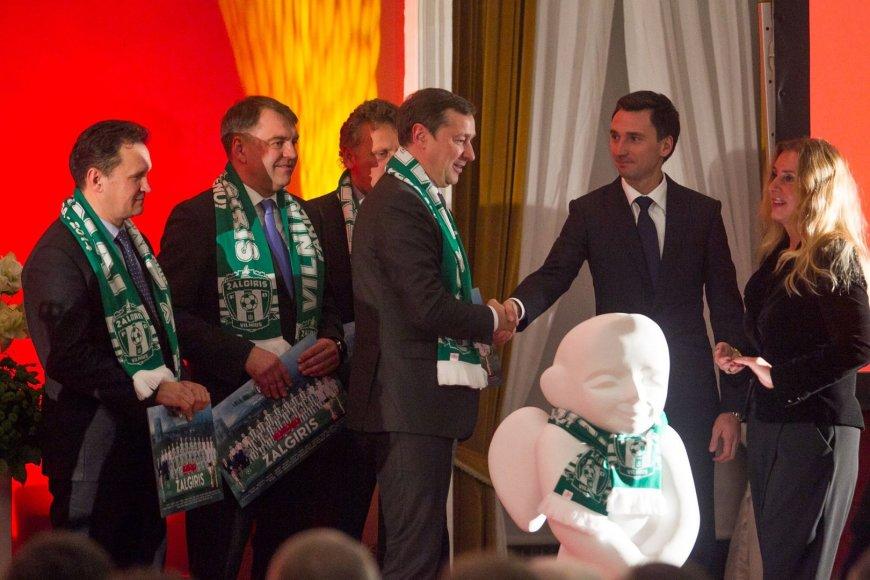 """Vilniaus miesto futbolo draugijos """"Žalgiris"""" - pagerbimo vakaras."""