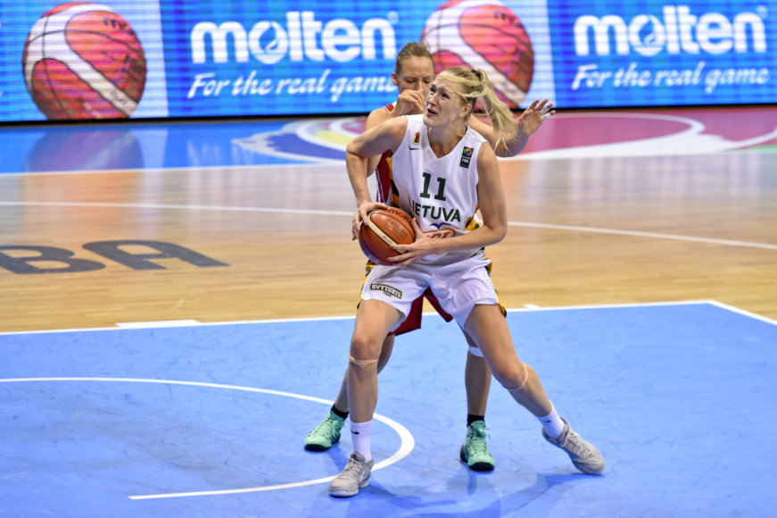 Europos moterų krepšinio čempionatas: Lietuva - Rusija