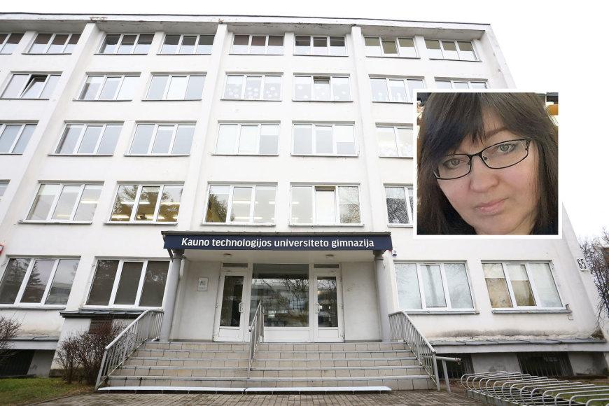 KTU gimnazijos mokytoja Violeta Židonytė