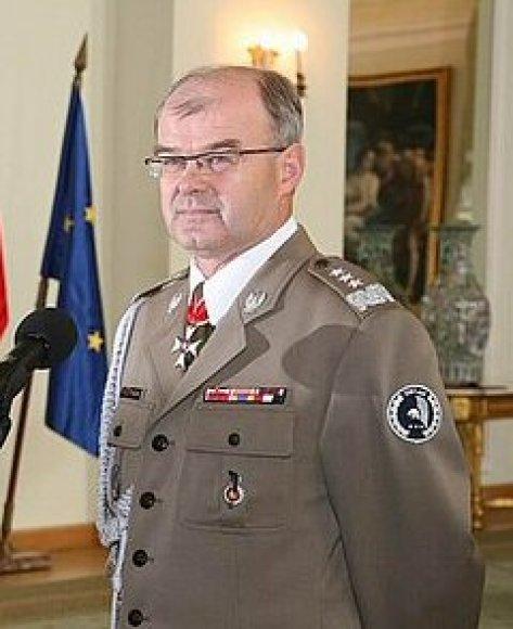 Lenkijos generolas Waldemaras Skrzypczakas