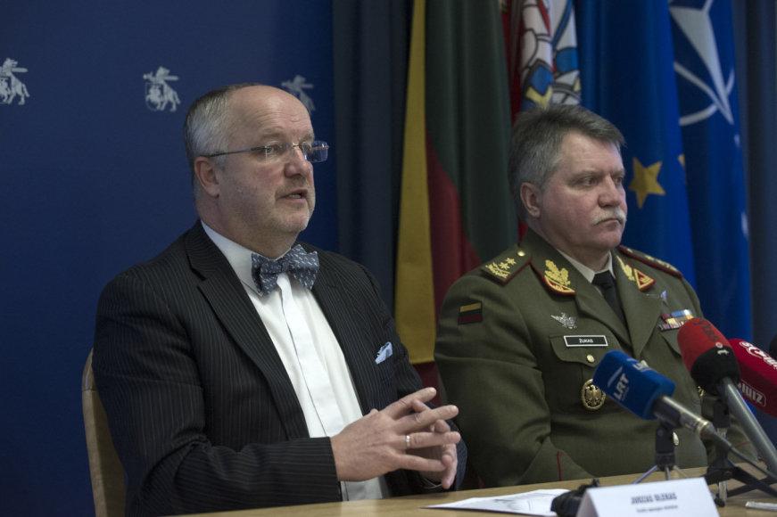 Juozas Olekas ir Jonas Vytautas Žukas
