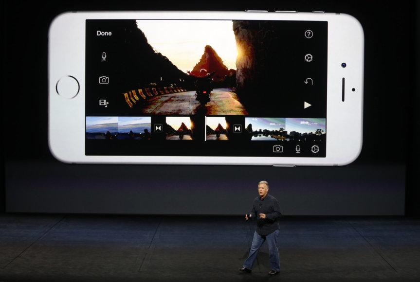 """Naujųjų """"Apple"""" produktų pristatymas San Franciske"""