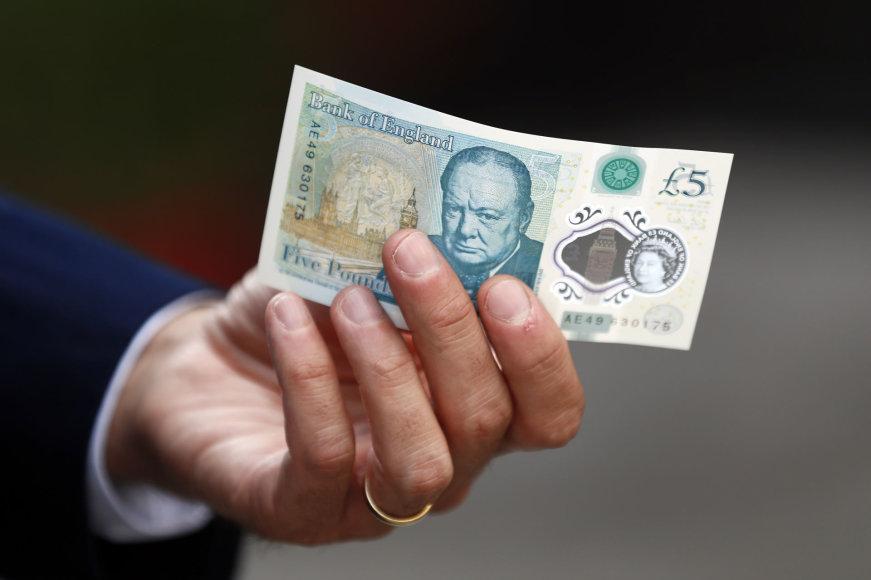 5 svarų banknotas
