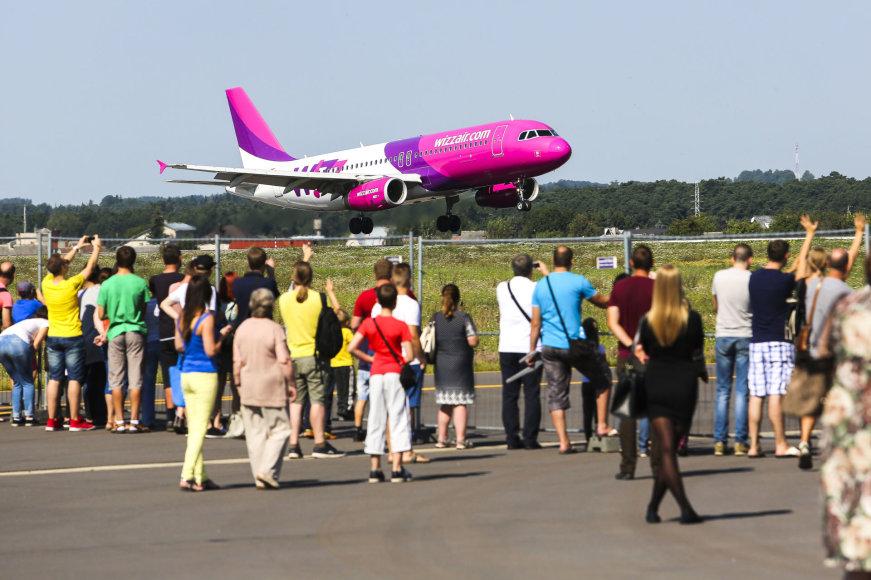 Kauno oro uosto šventėje netrūko pramogų