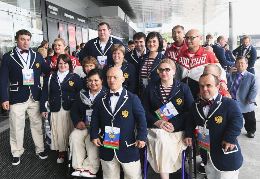 Rusijos parolimpiečių rinktinė