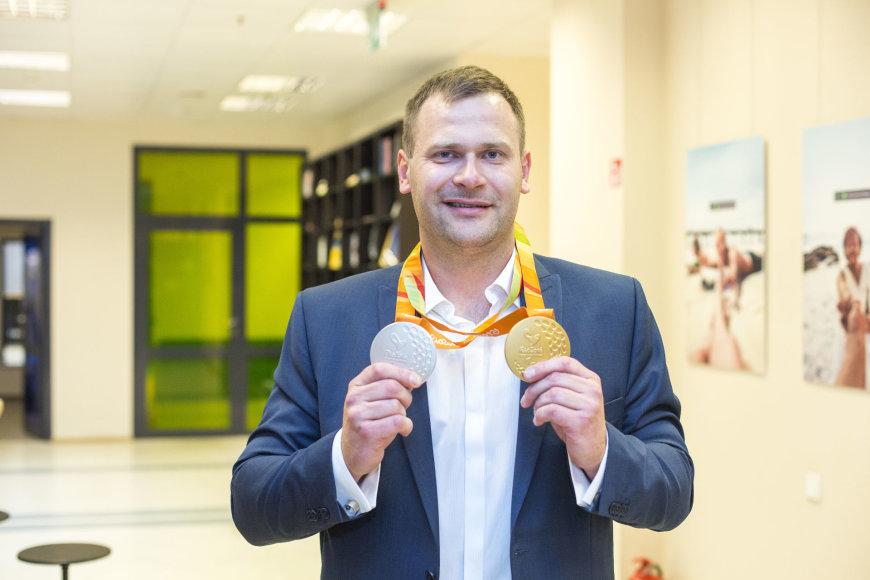 15min vaizdo konferencijoje – čempionas Mindaugas Bilius