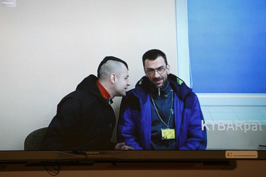 Andrius Marcinkevičius ir Kęstutis Katinas