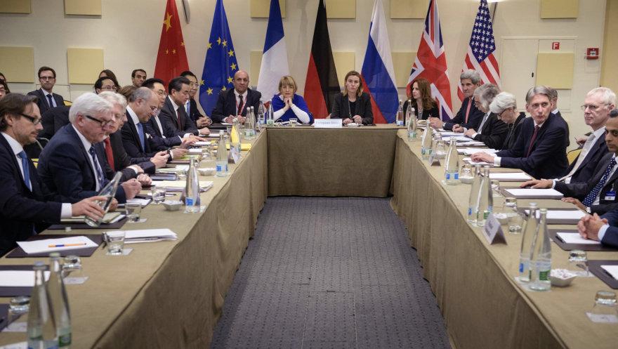 Derybos dėl Irano