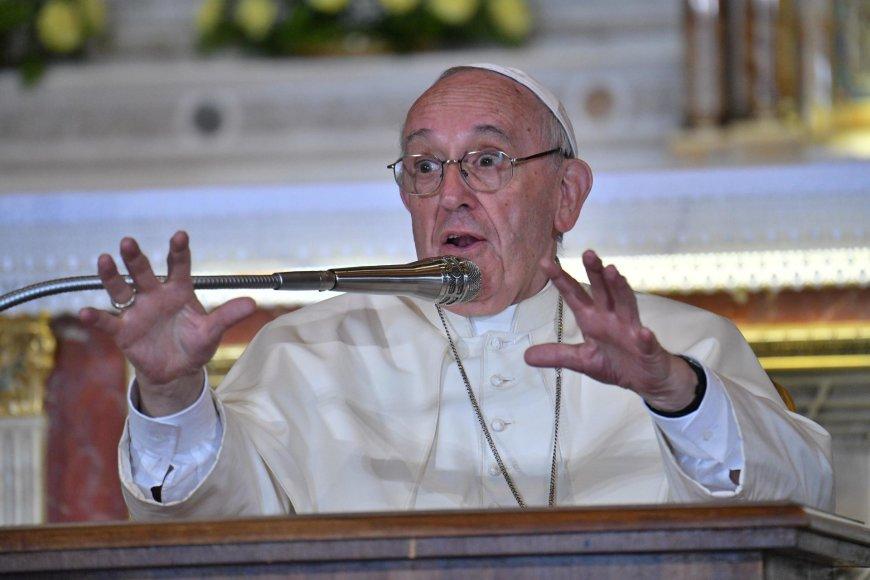 Popiežius Pranciškus Genujoje