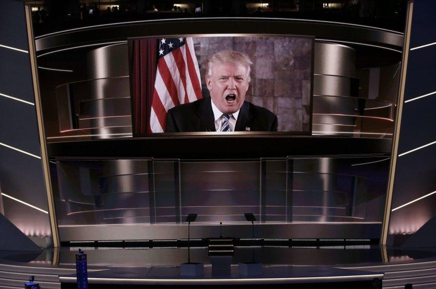 Donaldas Trumpas Klivlande