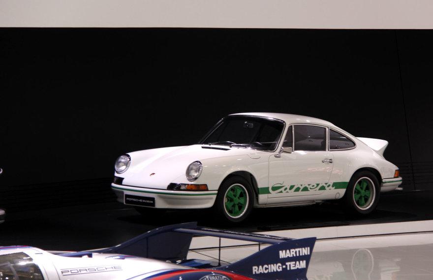 """Porsche"" muziejus Štutgarte"