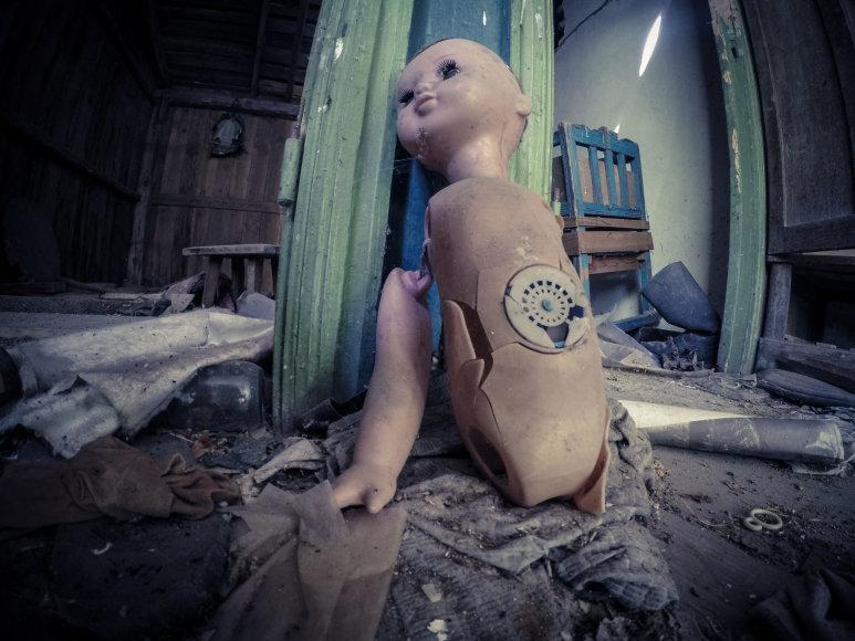 Fotografo nuotraukose – nelegalios kelionės Černobylyje akimirkos
