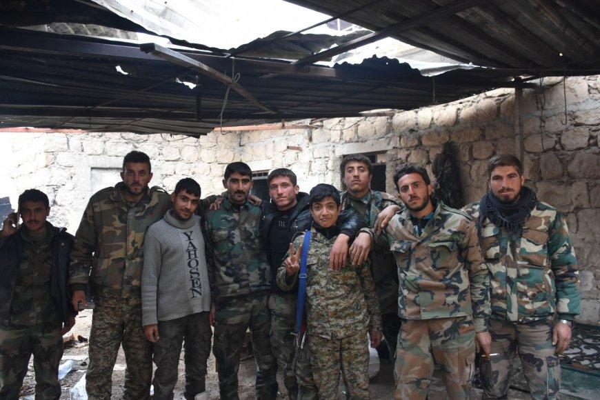 Sukilėliai Alepo mieste