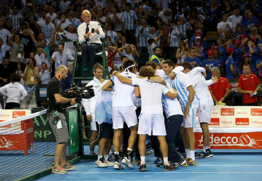 Argentinos teniso rinktinė