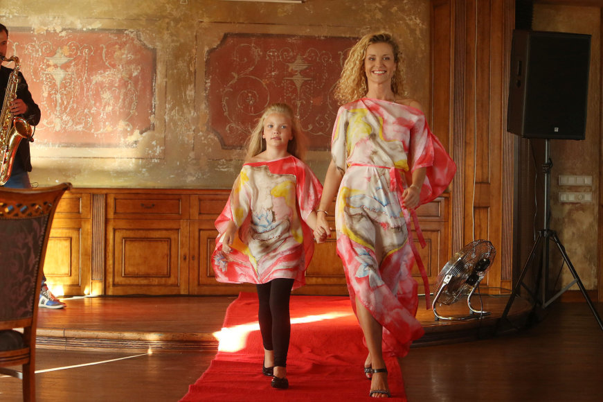 Edita Daniūtė su dukra