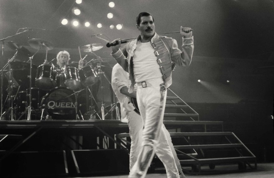 Vida Press nuotr./Freddie Mercury (1986 m.)