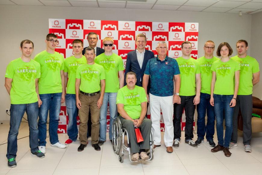Lietuvos parolimpiečių rinktinės išlydėjimas į Rio de Žaneiro parolimpiadą