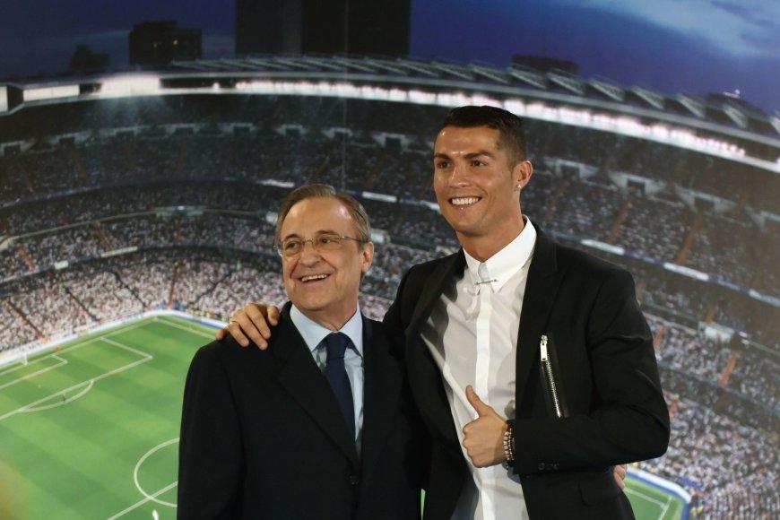 Florentino Perezas ir Cristiano Ronaldo