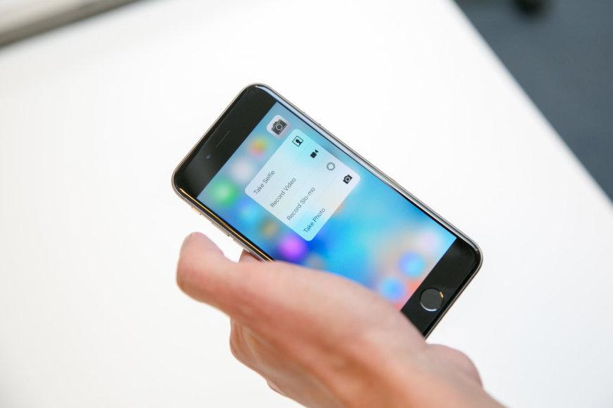 """""""Apple"""" išmanusis telefonas """"iPhone 6s"""""""