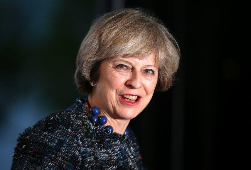 "AFP/""Scanpix"" nuotr./Theresa May"