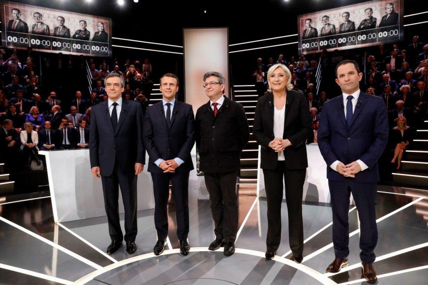 Kandidatų į Prancūzijos prezidento postą televiziniai debatai