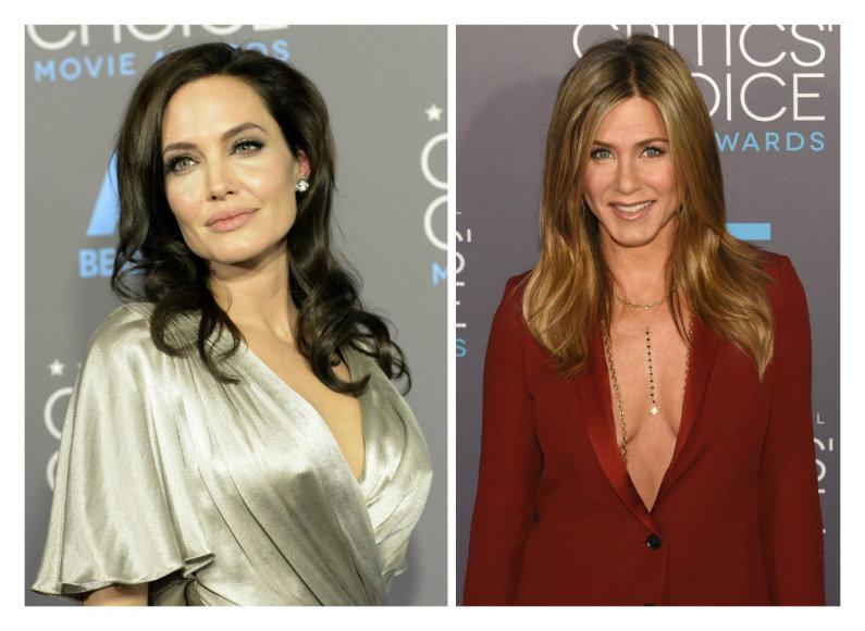 Angelina Jolie ir Jennifer Aniston
