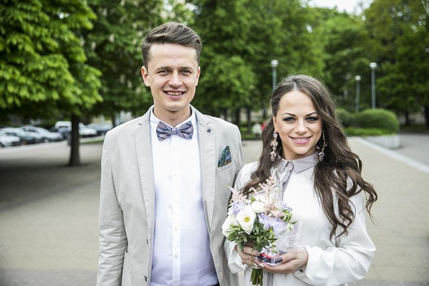 Ineta Puzaraitė ir Ąžuolas Žvagulis