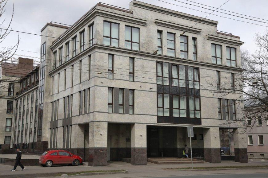 """Kremliaus """"trolių fabrikas"""" Sankt Peterburge"""