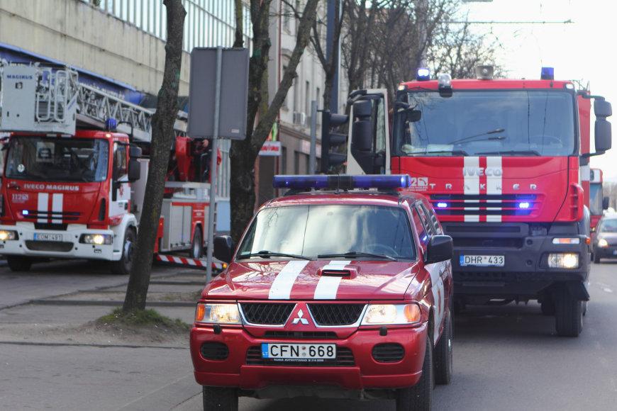 Gaisras prie Aklųjų sankryžos Kaune, Savanorių 206