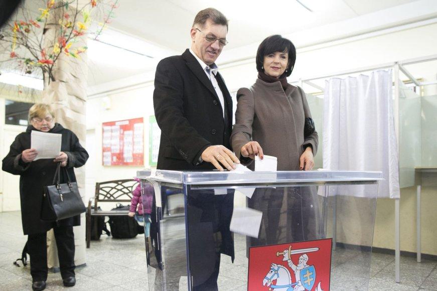 Algirdas Butkevičius ir Janina Butkevičienė