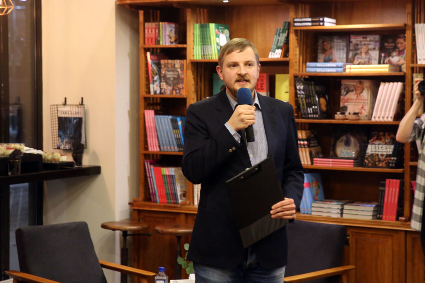 """Teodoro Biliūno/Žmonės.lt nuotr./""""Knygų ministerijos"""" atidarymas"""