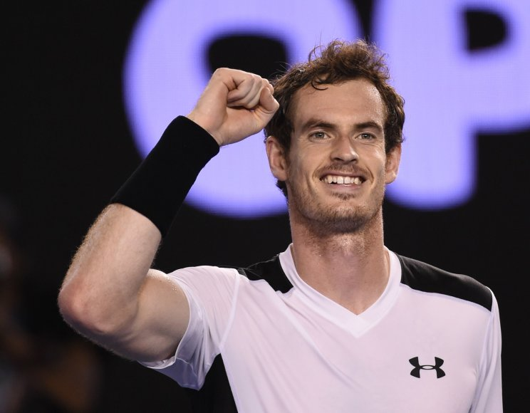 Andy Murray prieš Davidą Ferrerą
