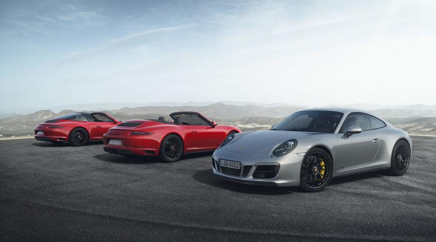 """Porsche 911 GTS"" modeliai"