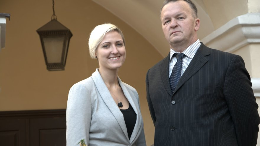 Knygos apie mirties bausmę tarpukario Lietuvoje autoriai S.Černevičiūtė ir S.Kaubrys