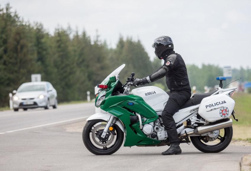 Naujo policijos motociklo pristatymas