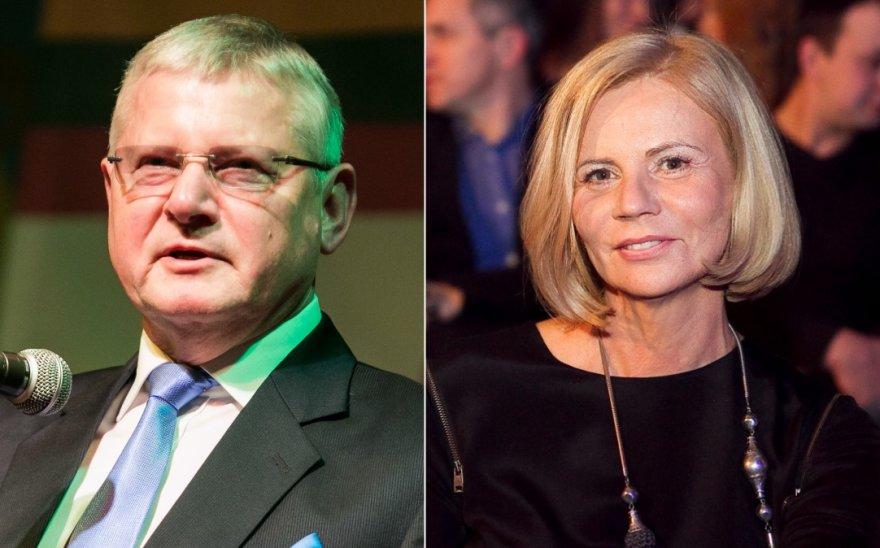 Vytautas Kvietkauskas ir Irena Marozienė