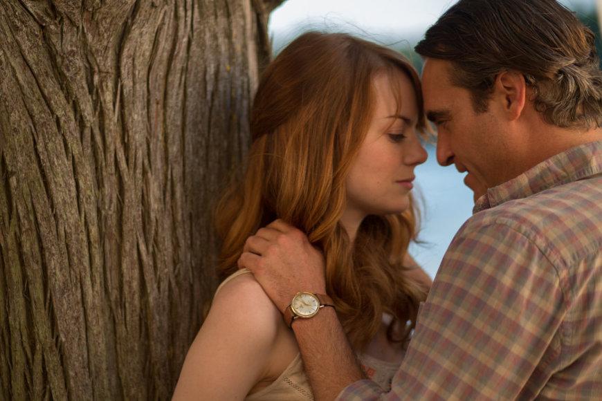 "Emma Stone ir Joaquinas Phoenix filme ""Neracionalus žmogus"""