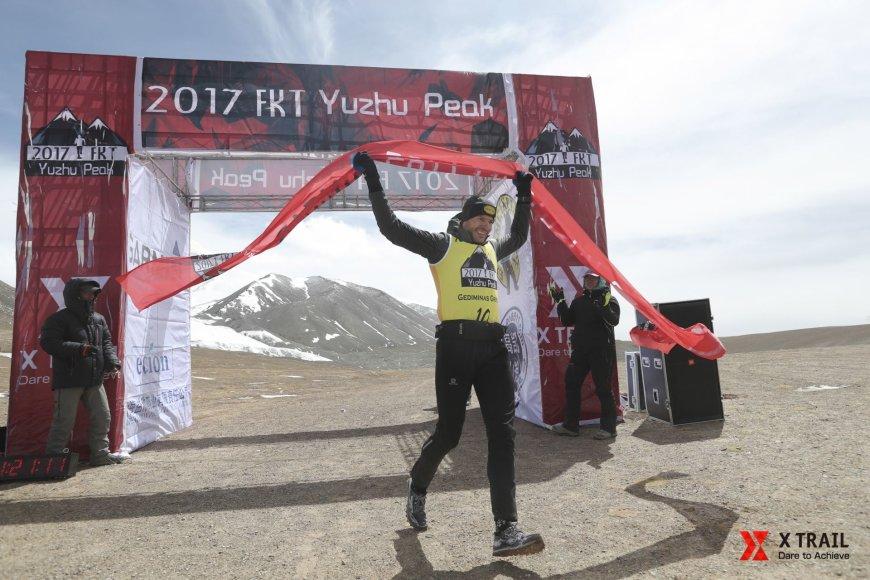 Gediminas Grinius varžybose Tibete