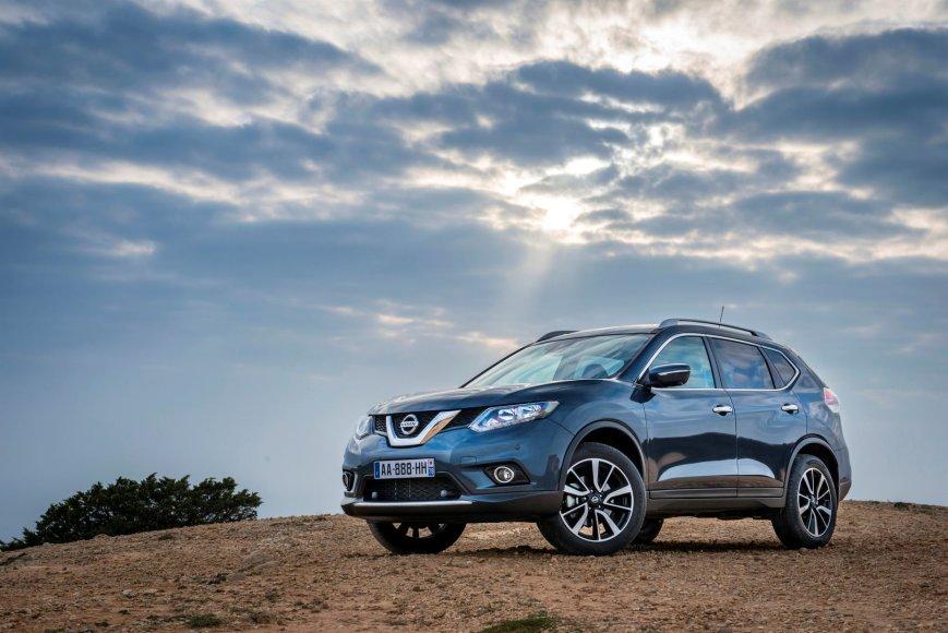 "Naujasis ""Nissan X-Trail"""