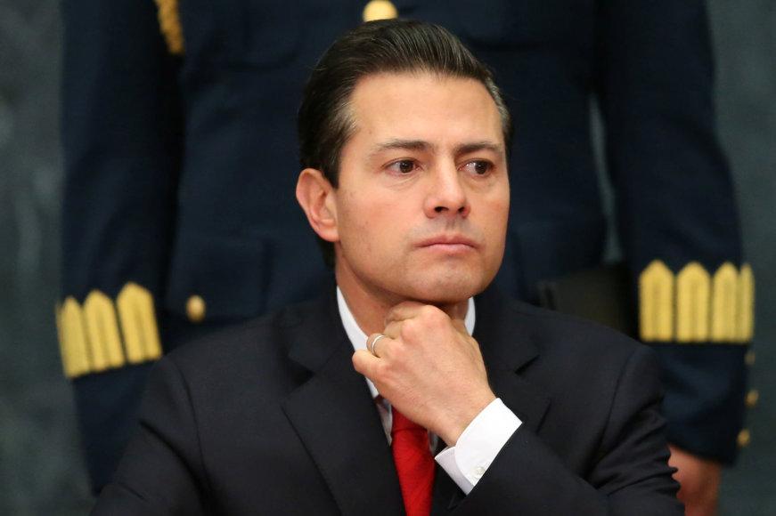 Meksikos prezidentas Enrique Pena Nieto.