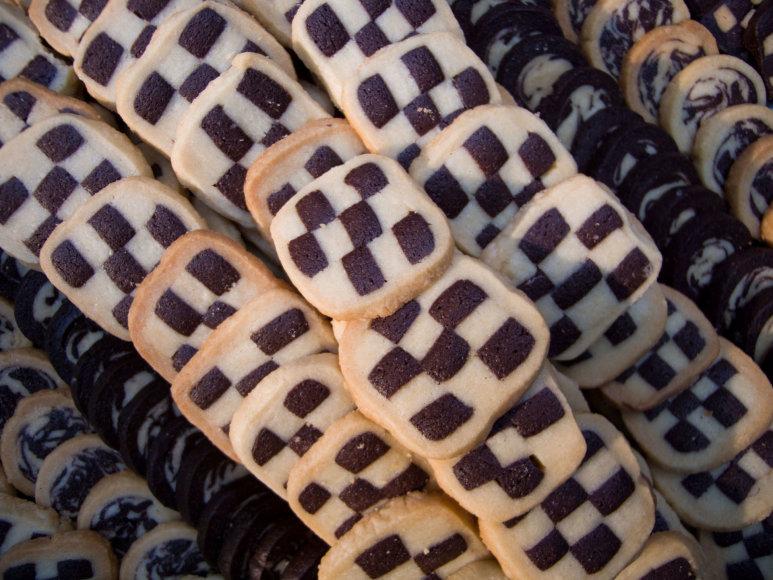 Trapūs dvispalviai sausainiai