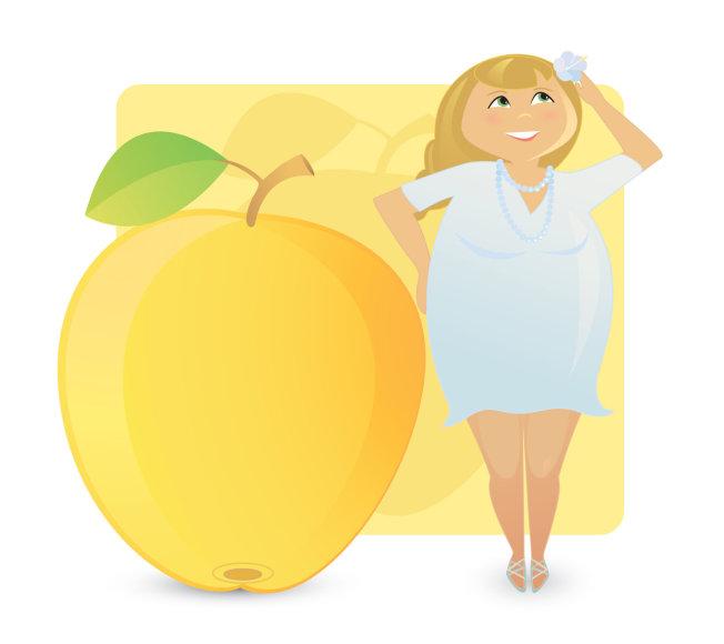 """""""Fotolia"""" nuotr./Figūros tipas: obuolys arba apskritimas"""