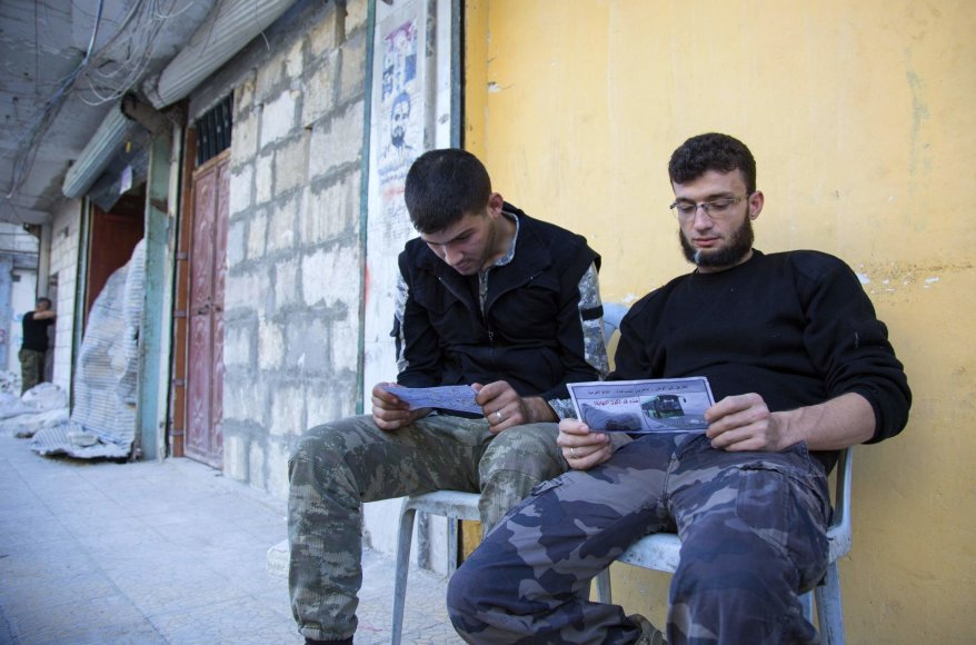 """Fateh al Sham Front"" kovotojai neskuba palikti Alepo"