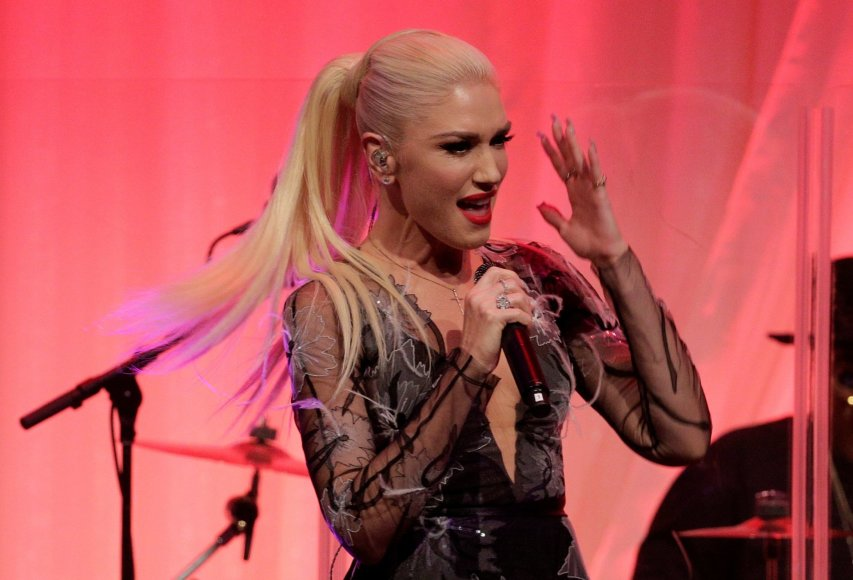 """Reuters""/""Scanpix"" nuotr./Gwen Stefani trečią sūnų pagimdė 44-erių"