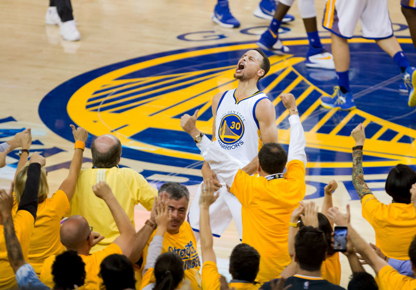 """Reuters""/""Scanpix"" nuotr./Stepheno Curry triumfas"