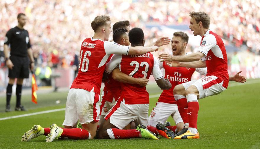 """""""Arsenal"""" džiaugsmas"""