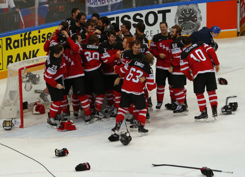 Kanadiečių triumfas