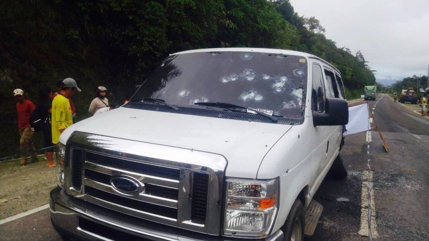 Filipinų prezidento sargybiniai pateko į pasalą
