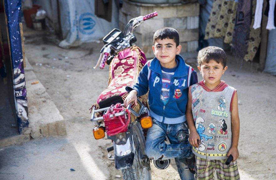 Sirų gyvenimas Chtauros pabėgėlių stovykloje