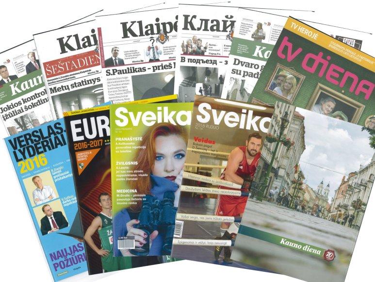 """""""Diena Media News"""" leidiniai"""